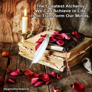 The sacred scrolls and teachings of alchemy, hypnosis, hypnotherapy, Hypnoformance