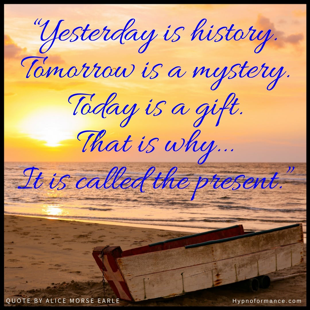Yesterday is History poem by Alice Morse Earle